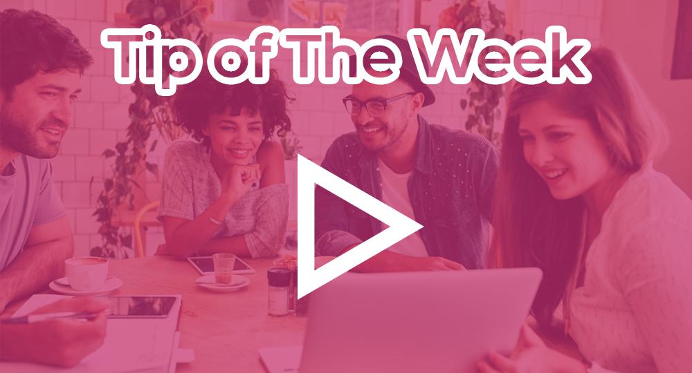 tip of the week pink