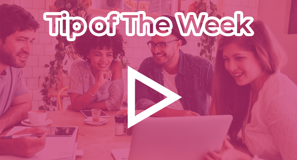 tip of the week pink 2